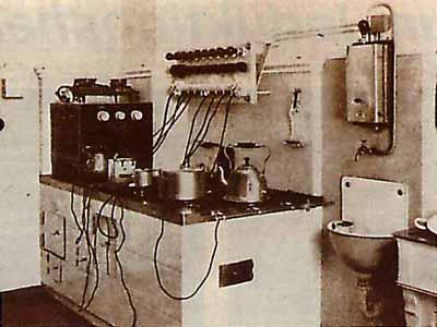 die elektrische k che war anfangs ein luxus. Black Bedroom Furniture Sets. Home Design Ideas