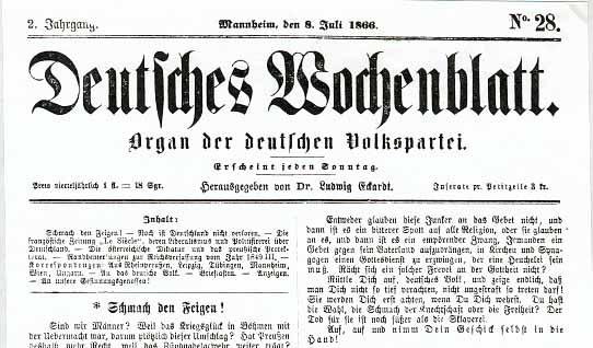 Deutsches Wochenblatt 1